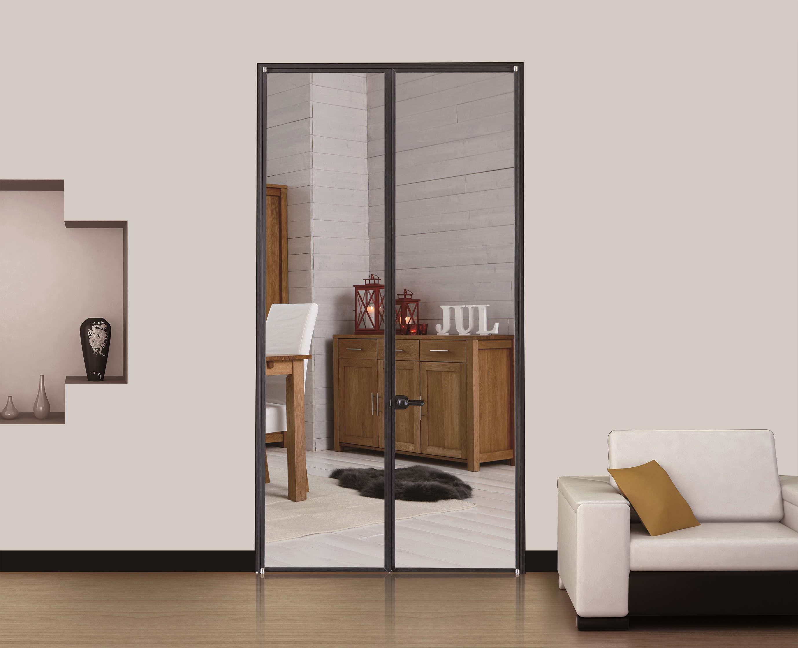 极简生态玻璃门